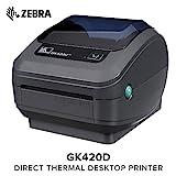 Zebra GK42-202520-000 - Impresora de etiquetas (térmica directa, 203 x 203 dpi, 127 mm/seg,...