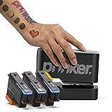 PRINKER. COLOR YOUR WAY dispositivo tatuaje temporal paquete para su inmediata personalizado...