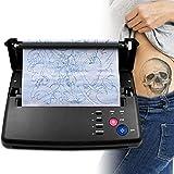 4YANG Máquina de transferencia de tatuajes, Impresora de copiadora de plantilla térmica, Máquina...