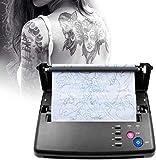 Kacsoo Máquina de transferencia de tatuajes Impresora térmica portátil profesional para tatuajes...