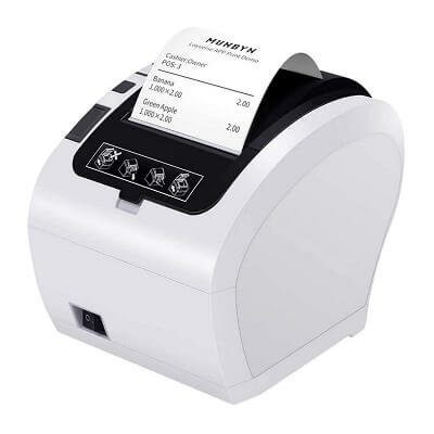 Impresora térmica MUNBYN ITPP047-WH-FR